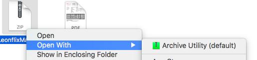 UnZip LeonFlix Mac File